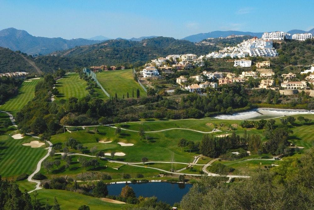 Golfplatz in Marbella