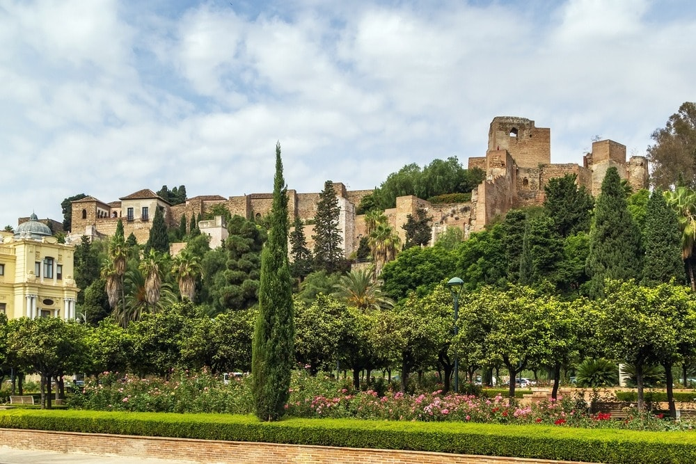 Het Alcazaba in Malaga