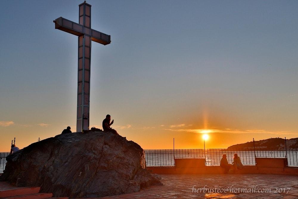 Mirador Peñón del Santo en Almuñécar