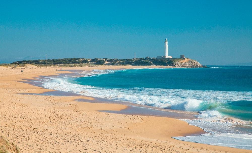 Nudist beach between Conil de la Frontera and Barbate (Cadiz)