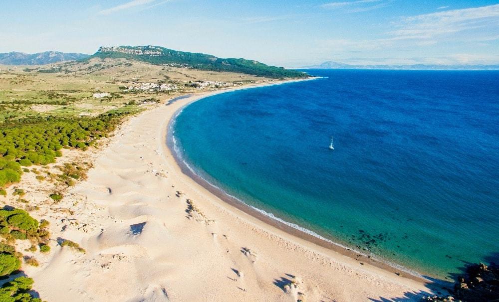 Playa nudista de Bolonia - El Chorrito en Tarifa (Cádiz)