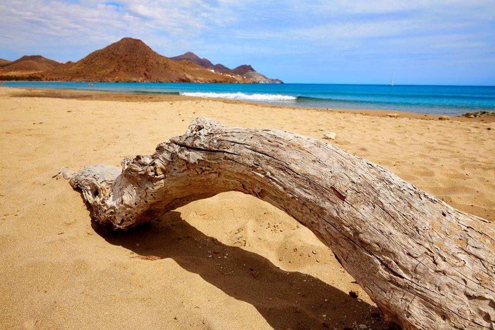 Playa nudista de Los Genoveses en San Jose (Almería)