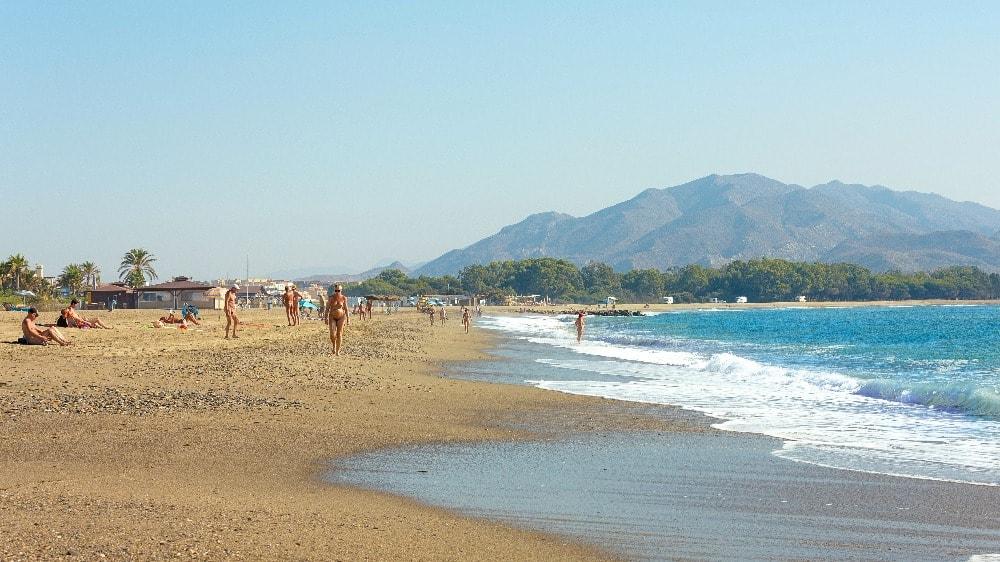Playa nudista de Vera (Almería)