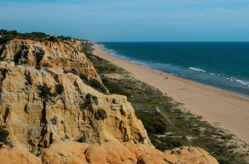 Playa nudista entre Mazagón y Matalascañas (Huelva)