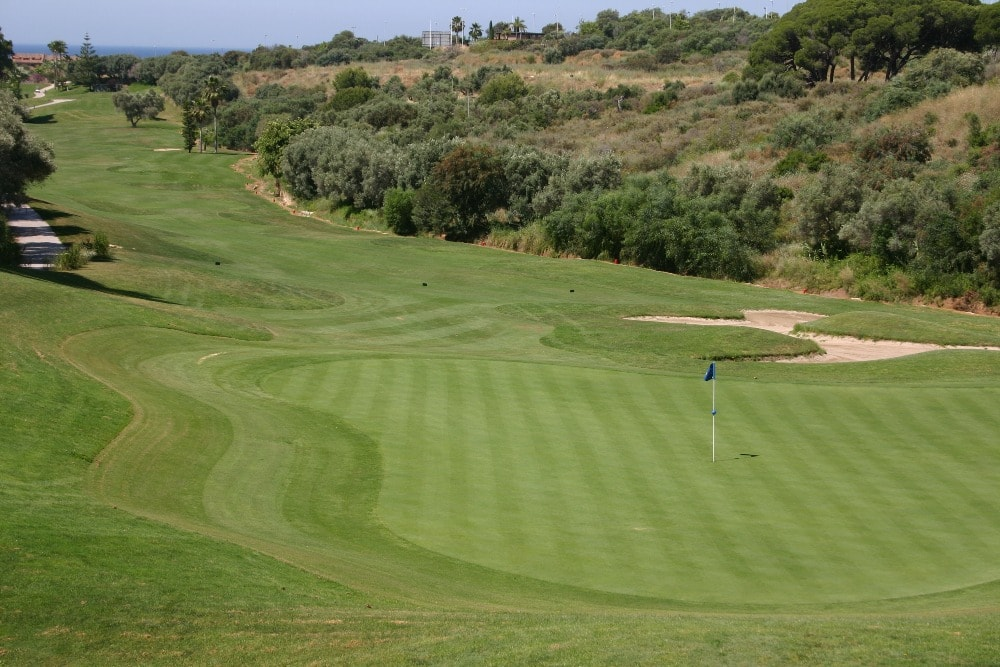 Santa Clara Golf Club golfbaan in Marbella