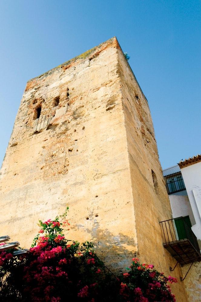 Tower of Pimentel in Torremolinos (Malaga)