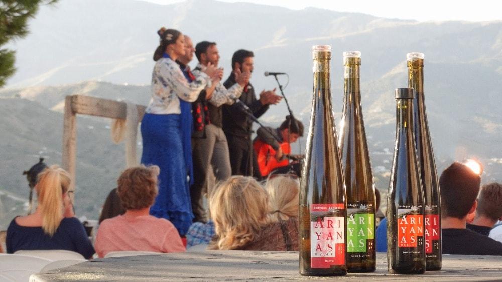 Weinkeller Bentomiz in Sayalonga