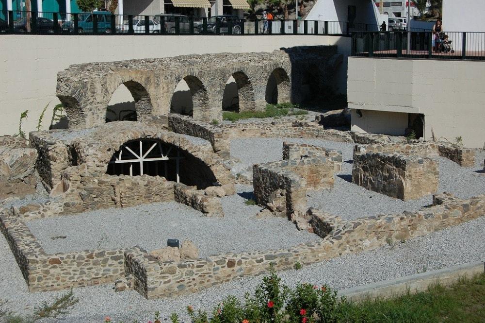 Acueducto Romano de Sexi in Almuñécar