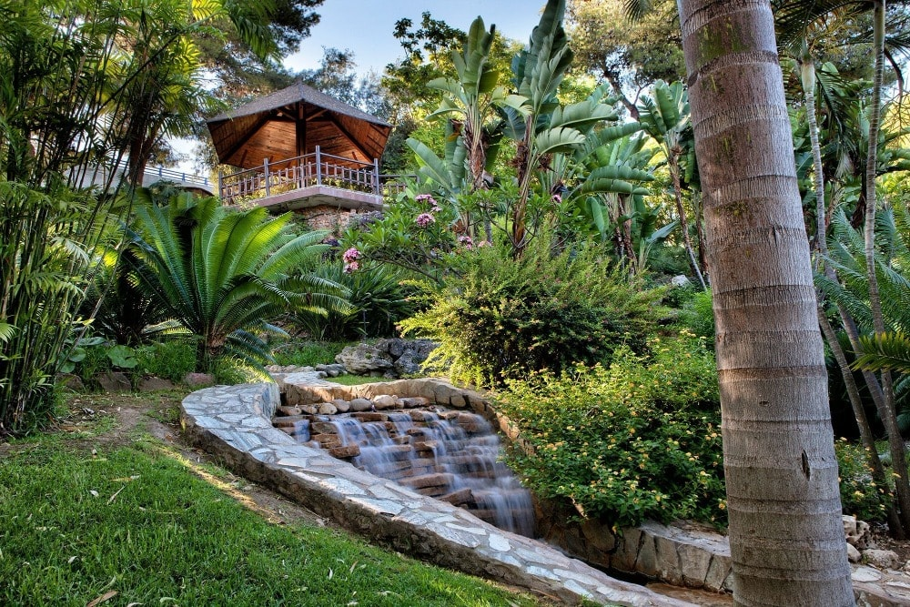 Botanische tuin Molino del Inca in Torremolinos (Malaga)