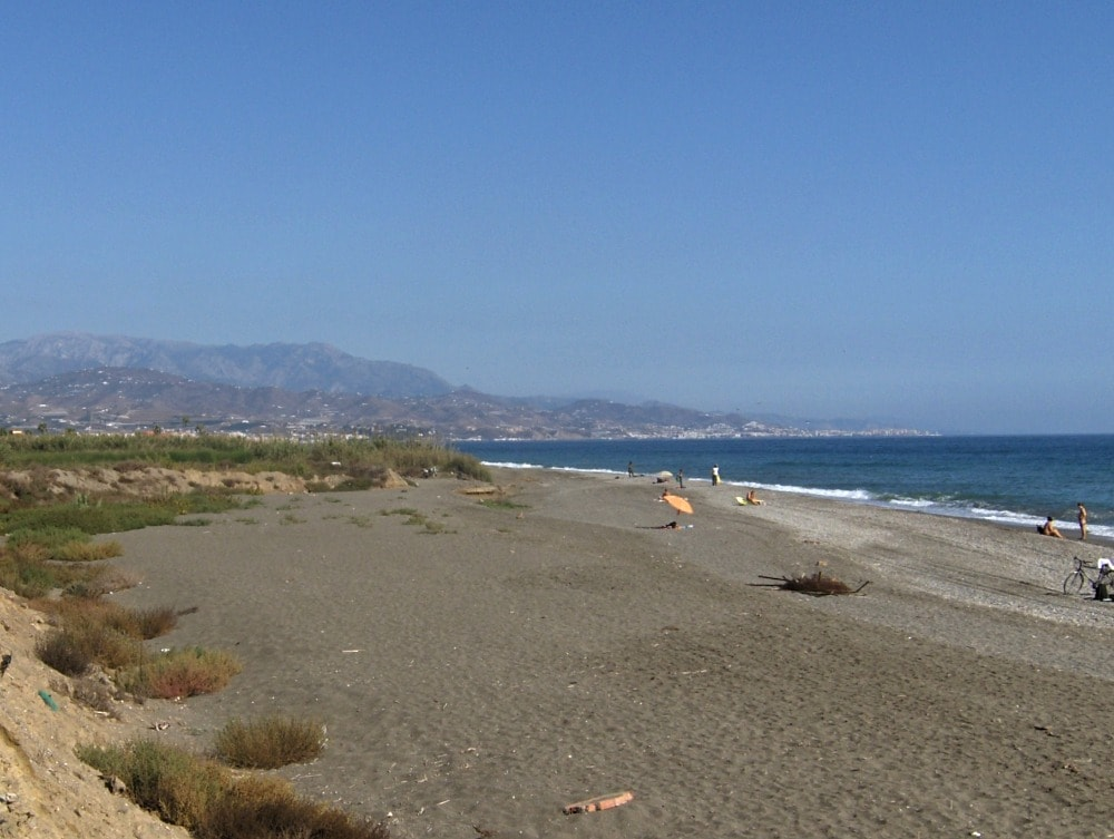 FKK-Strand von Almayate