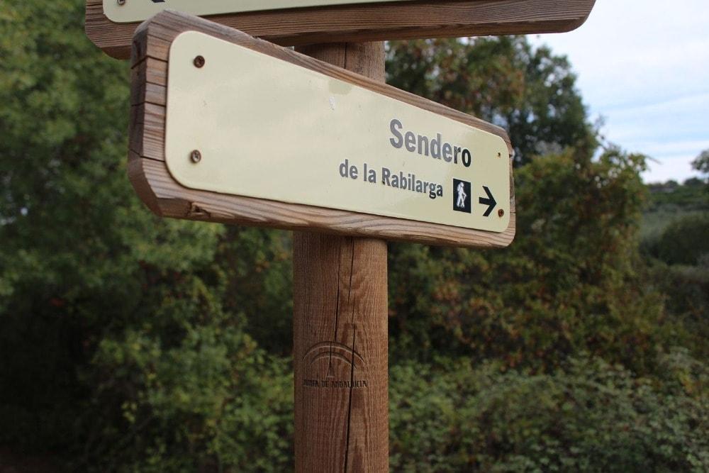 Chemin de La Rabilarga dans la Sierra de Hornachelos - Rincones del Valle