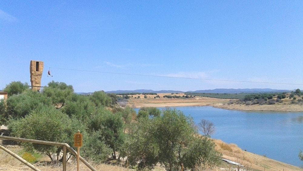 Embalse de la Breña à Almodóvar del Río - activités de plein-air