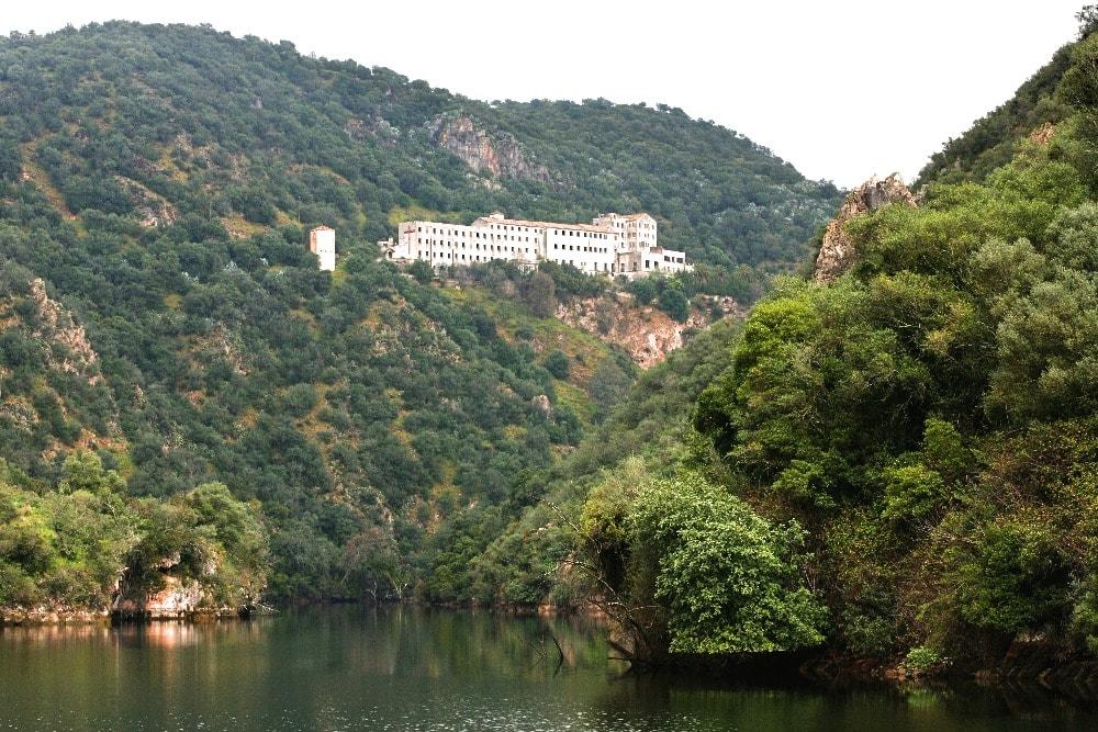Monastery Nuestra Señora de Los Ángeles in Hornachuelos