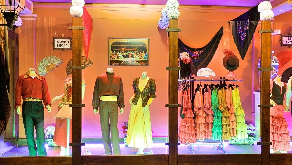 Museo del Flamenco y Arte Andaluz in Sevilla - Patio Andaluz
