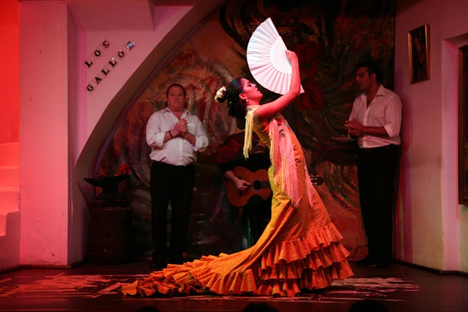 Tablao Los Gallos Patricia Guerrero - Top Lokalitäten um den Flamenco in Sevilla hautnah zu erleben