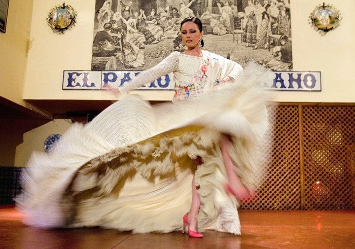 El Patio Sevillano in Seville - where to see Flamenco in Seville
