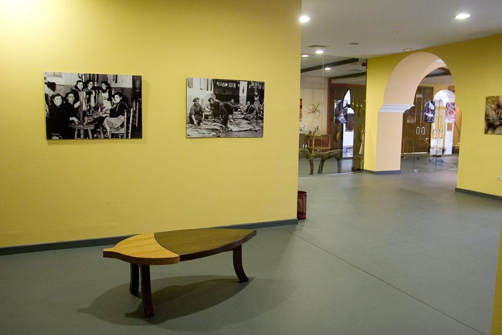 Binnen van het Museum van de Ham in Aracena - Foto met dank aan Ayuntamiento de Aracena