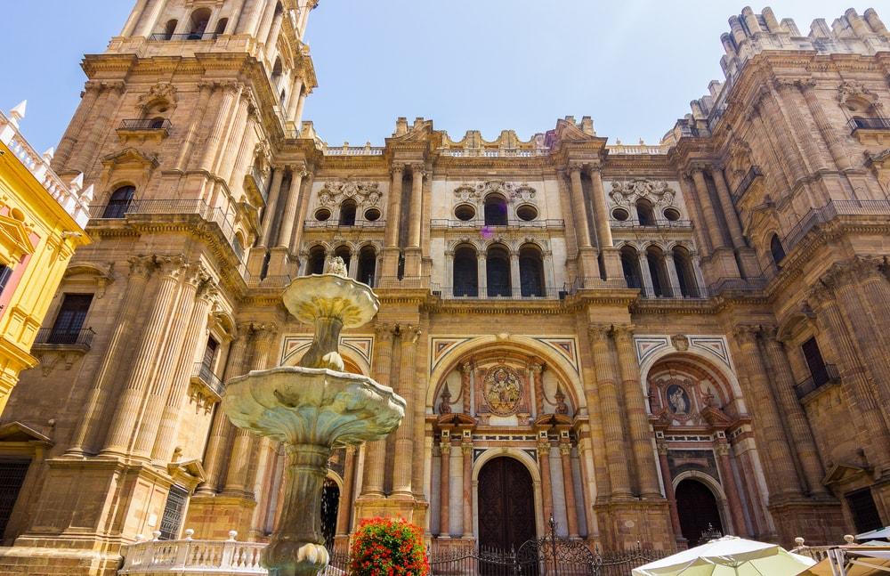 La Manquita face à la Plaza del Obispo à Malaga