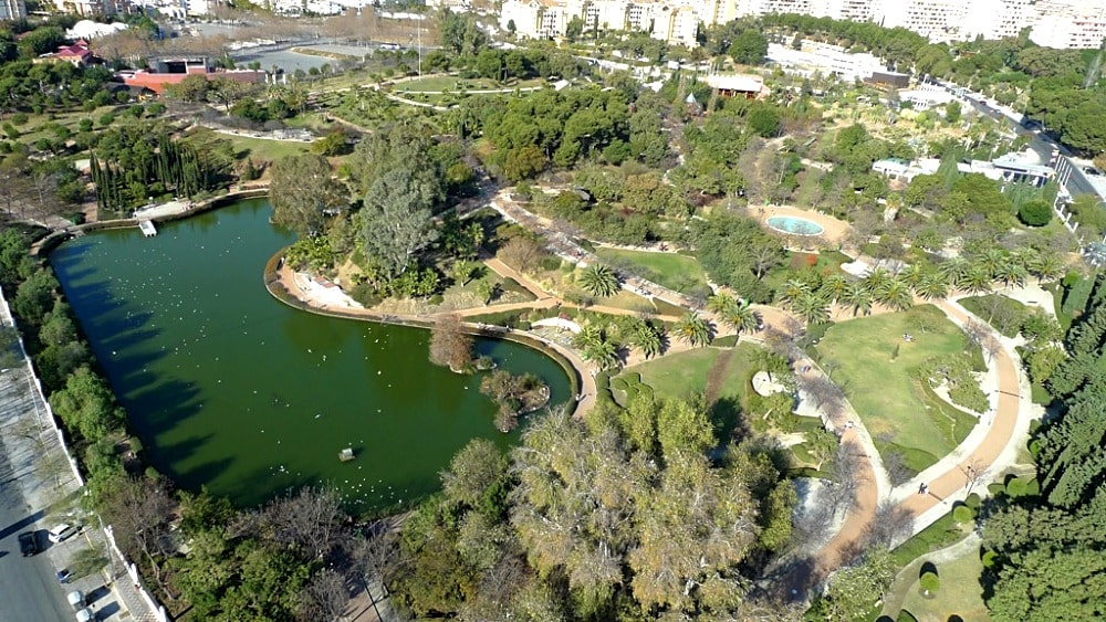 Park of La Paloma in Benalmádena
