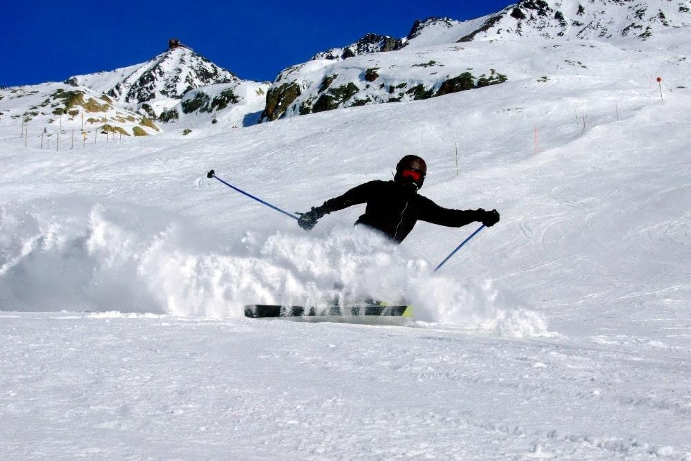 Skifahren in Sierra Nevada (Granada)