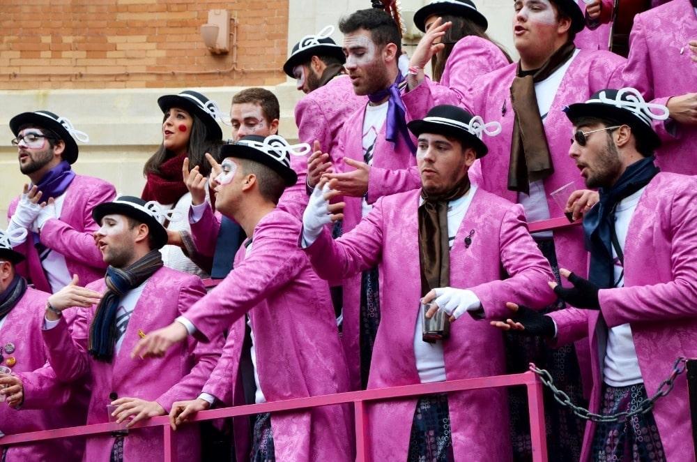 Carnaval van Cadiz 2015 - Foto met dank aan het stadhuis van Cadiz