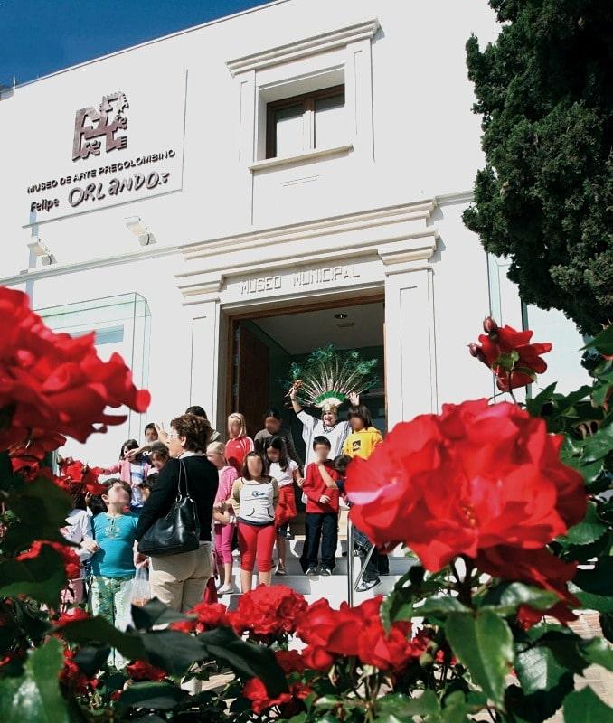 Museum für präkolumbianische Kunst Felipe Orlando in Benalmádena