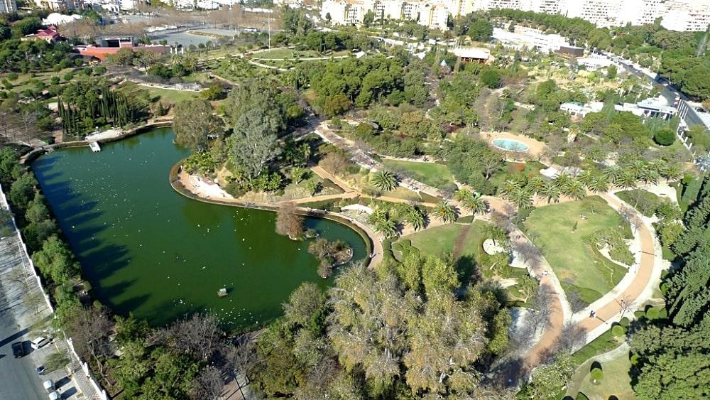 Park von La Paloma in Benalmádena