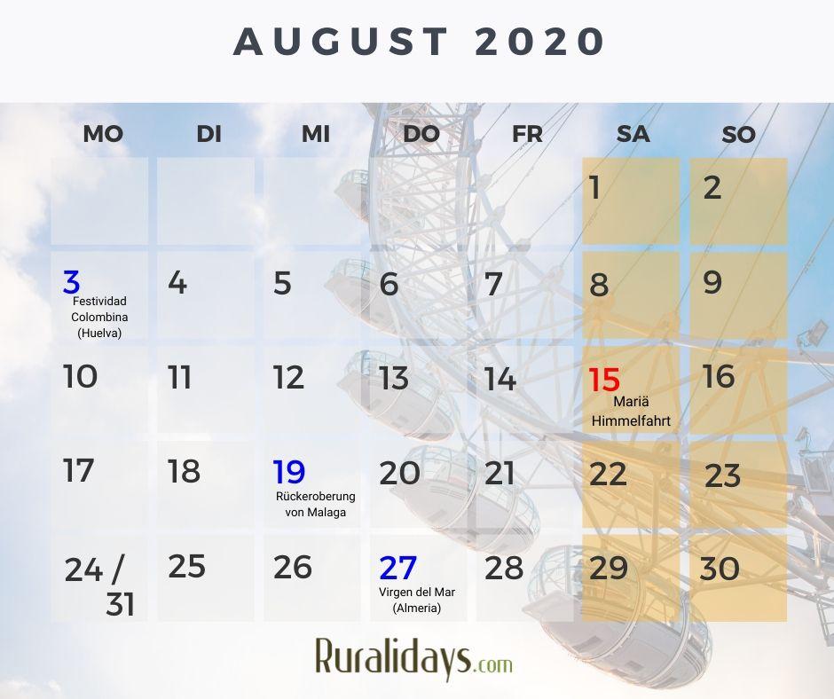 feiertage spanien 2019