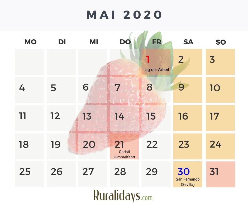 feiertage in mai