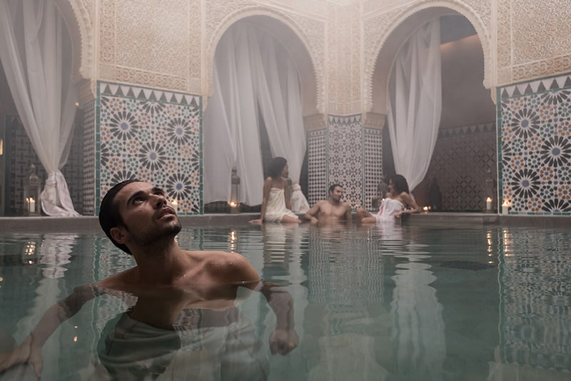Afternoon in the Hammam Al-Ándalus - Romantic ideas in Malaga