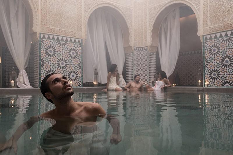 Après-midi au Hammam Al-Ándalus - Idées romantiques à Malaga