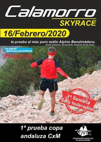 Calamorro Skyrace - Maratones en Málaga 2020