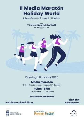 Carrera Litoral Holiday World de Benalmádena - Marathons sur la Costa del Sol 2020