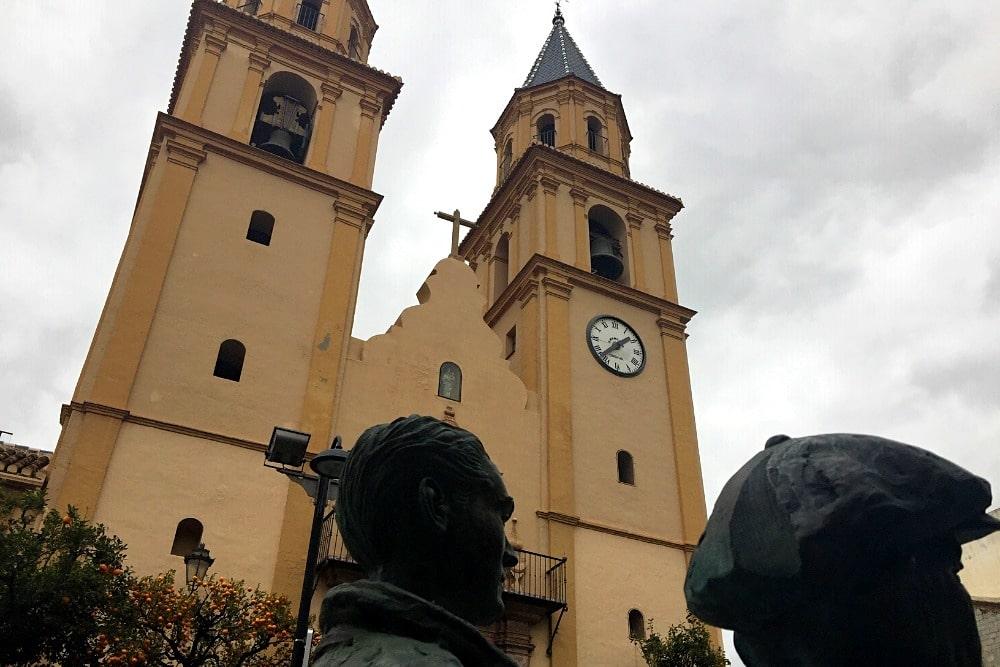 Church Nuestra Señora de la Expectación in Orgiva
