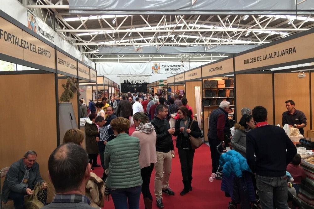 Feria Hecho en la Alpujarra en Órgiva