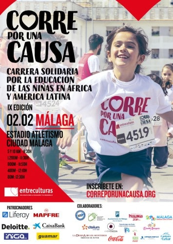IX Carrera Solidaria Entreculturas - Maratones en Málaga 2020