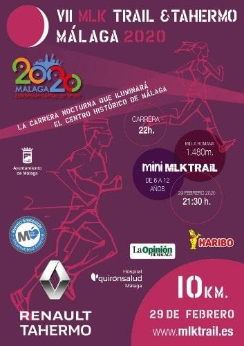 MLK Tráil & Tahermo - Maratones en Málaga 2020