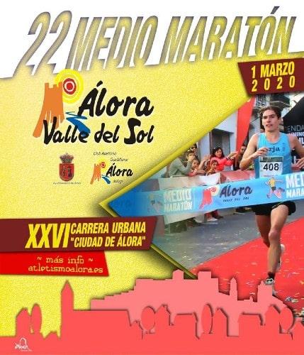 Media Maratón Álora – Valle del Sol - Maratones en Málaga 2020