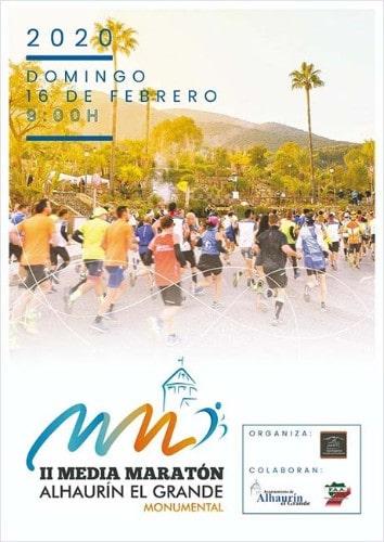Media Maratón Alhaurín el Grande Monumental - Hardloopevenementen in Malaga 2020