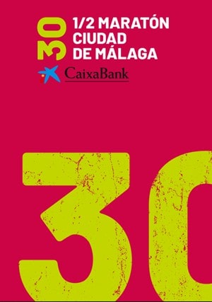 Media Maratón Caixa Bank Ciudad de Málaga - Maratones en Málaga 2020