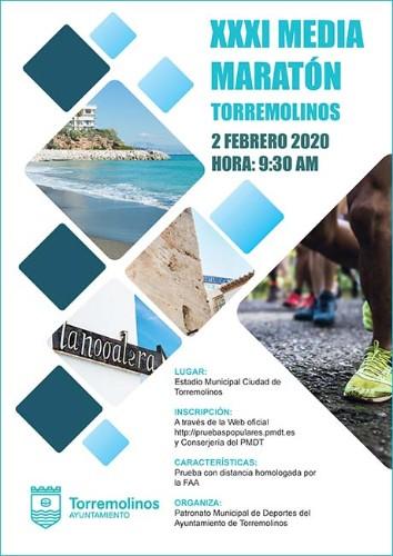 Media Maratón Internacional de Torremolinos - Marathons sur la Costa del Sol 2020