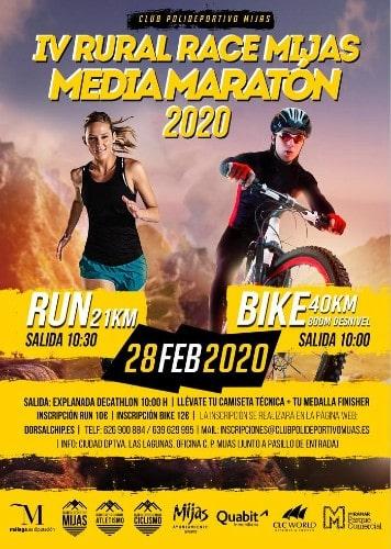 Media Maratón Rural Villa de Mijas - Hardloopevenementen in Malaga 2020