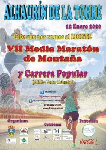Media Maratón de Alhaurín de la Torre - Hardloopevenementen in Malaga 2020