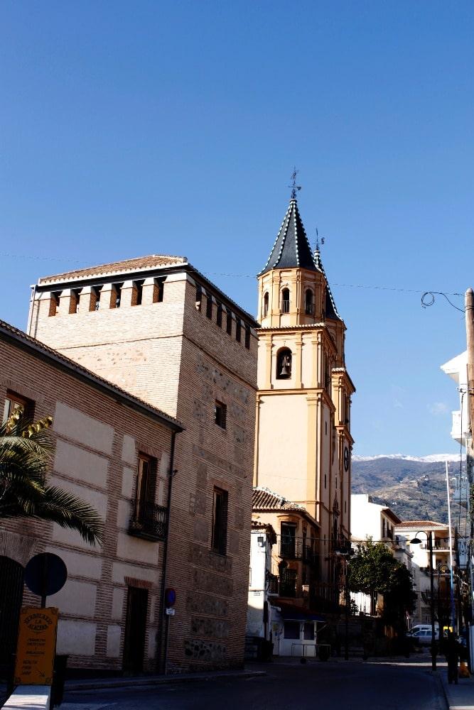 Palace-House Condes de Sástago in Orgiva - City Council