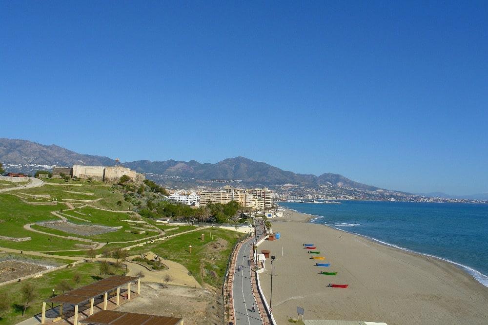 Playa del Castillo en Fuengirola (Ayuntamiento Fuengirola)