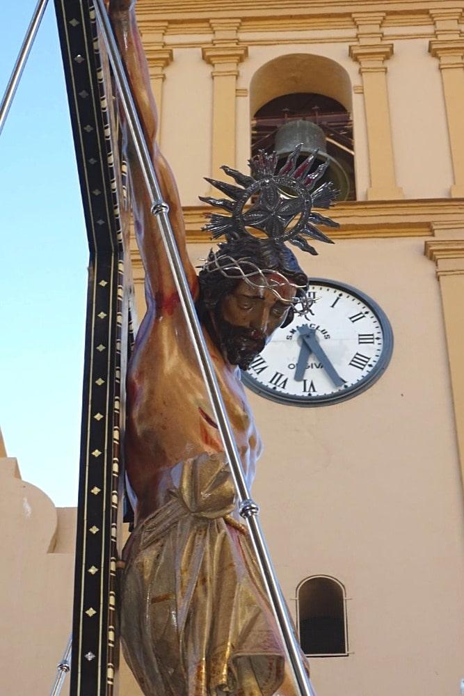 Procession du Cristo de la Expiración à Órgiva