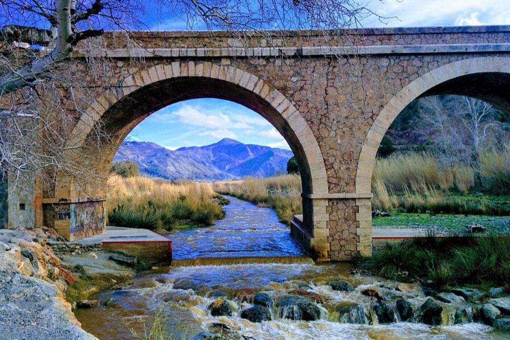 Río Guadalfeo en Órgiva