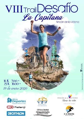 Trail Desafío La Capitana à Rincón de la Victoria - Marathons sur la Costa del Sol 2020