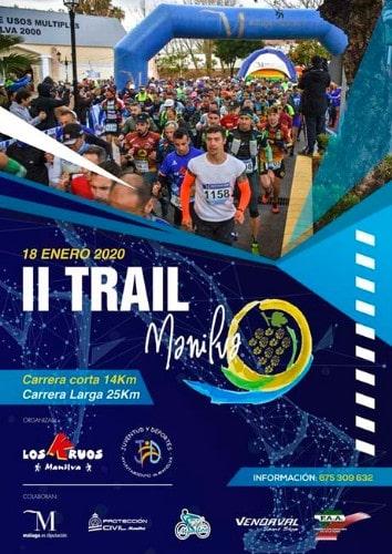Trail de Manilva - Marathons sur la Costa del Sol 2020