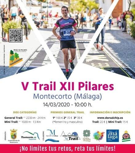 V Tráil XII Pilares de Montecorto - Maratones en Málaga 2020